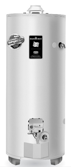 Bradford White RG250H6N 48 Gallon High Input Atmospheric Vent Water Heater, Natural Gas