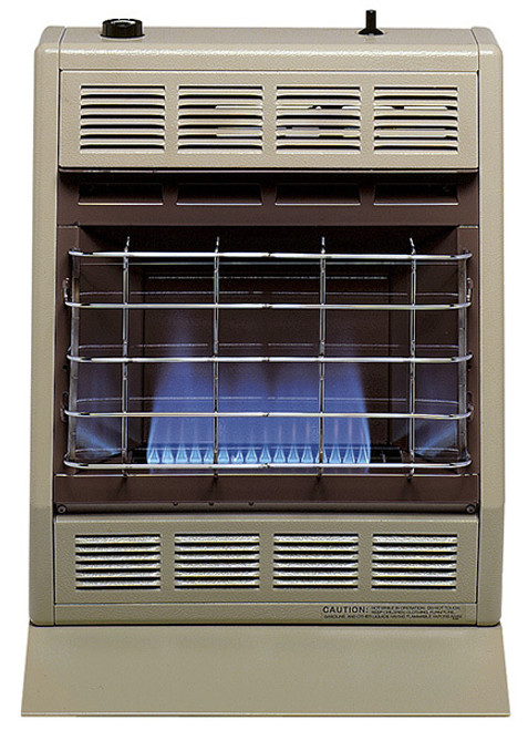 Empire Comfort Systems BF-20 20,000 BTU Blue Flame Vent-Free Gas Heater