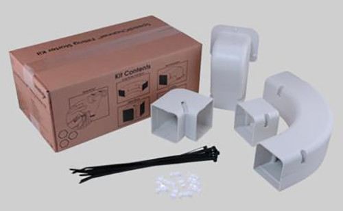 """DiversiTech 230-IK4 4"""" SpeediChannel Fitting Kit"""