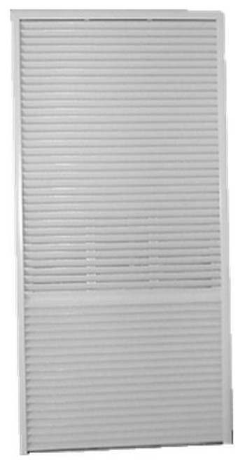 Amana AGKV01CB Architectural Grille for Amana Vertical Terminal Air Conditioner Systems (VTACS) - Clear Anodized Unpainted
