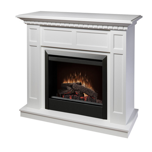 Dimplex DFP4743W Caprice Electric Fireplace Package with Log Set