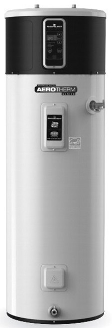 Bradford White RE2H50R10B-1NCWT 50 Gallon AeroTherm Heat Pump Water Heater, 240 Volt/4500 Watts