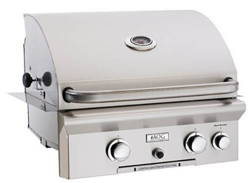 "American Outdoor Grill 24PBL 24"" Built-In Liquid Propane Grill with Rotisserie"