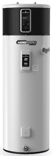 Bradford White RE2H80R10B-1NCWT 80 Gallon AeroTherm Heat Pump Water Heater, 240 Volt/4500 Watts