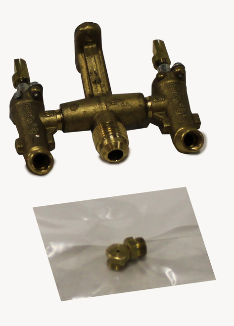 Broilmaster BCK1014 LP to Natural Gas Conversion Kit for Q3X Qrave