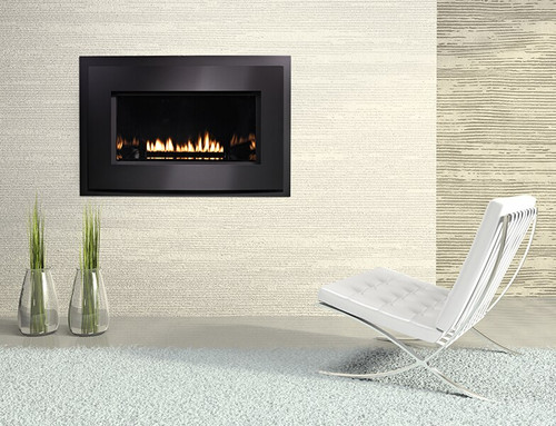 """White Mountain Hearth DVL25FP72N 25"""" Small Loft Series Direct Vent Fireplace"""