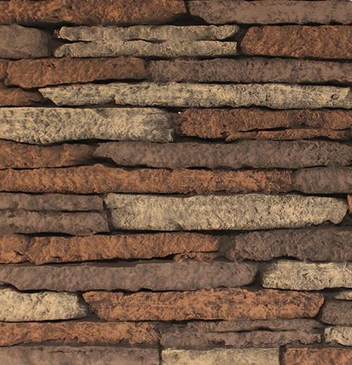 White Mountain Hearth VBP32SG Stacked Limestone, Ceramic Fiber Firebox Liner