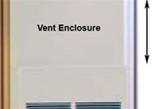"Empire Comfort Systems FVE-46 46"" Vent Enclosure"