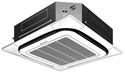 Daikin FCQ30PAVJU 30000 BTU SkyAir Commercial Roundflow Cassette Ceiling Unit