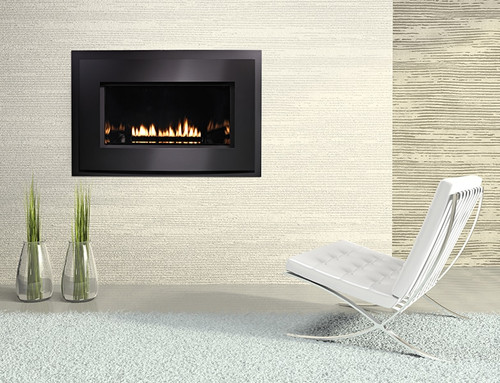 "White Mountain Hearth DVL33FP32P 33"" Medium Loft Series Direct Vent Fireplace"