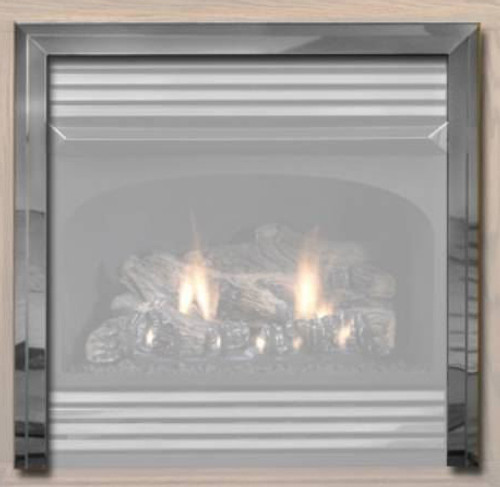 White Mountain Hearth VPF26HP Hammered Pewter 3-Piece Trim Kit