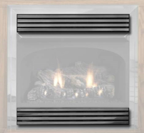 White Mountain Hearth VPL26HP Hammered Pewter Slatted Louvers
