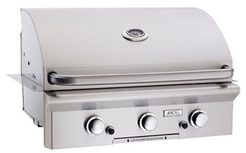 """American Outdoor Grill 30PBL 30"""" Built-In Liquid Propane Grill with Rotisserie"""