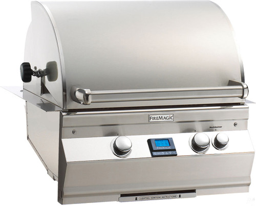 "Fire Magic A430i-6E1P Aurora 24"" Built-In Gas Grill with Rotisserie Backburner - Liquid Propane"