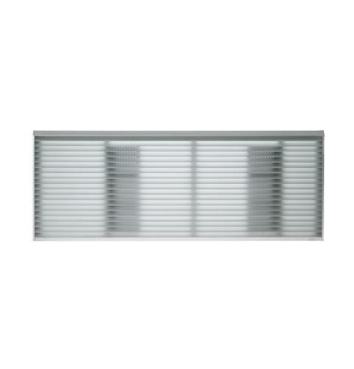 "General Electric RAG67 42"" Architectural Exterior Grille - Aluminum"
