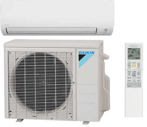 Daikin 12,000 BTU Mini Split Heat Pump Air Conditioner.