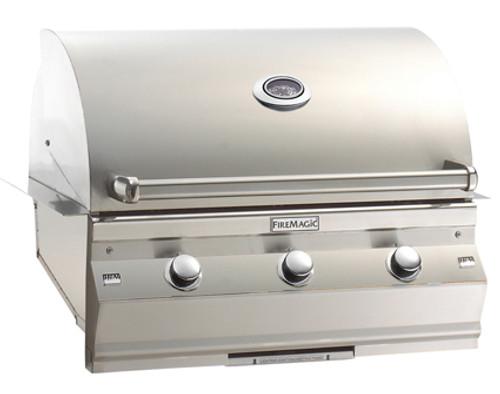 "Fire Magic A540i-6E1P Aurora 30"" Built-In Gas Grill with Rotisserie - Liquid Propane"