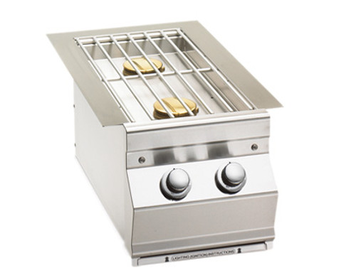 Fire Magic 3281N Built-In Double Side Burner - Natural Gas