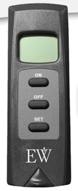 Everwarm EW4001TH Thermostat Remote with LCD Display Millivolt for Gas Fireplaces & Logs