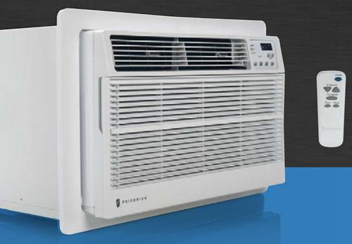 Friedrich UE08D11D 8000 BTU Uni-Fit Through The Wall Air Conditioner, 3850 BTU Electric Heat - 115 Volt