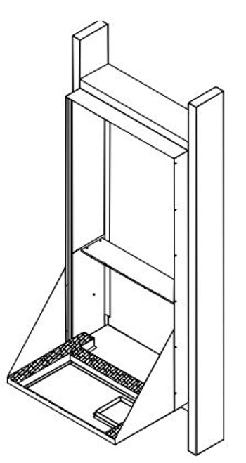 Amana VWS958A Standard Wall Sleeve for Amana Vertical Terminal Air Conditioner Systems (VTACs)