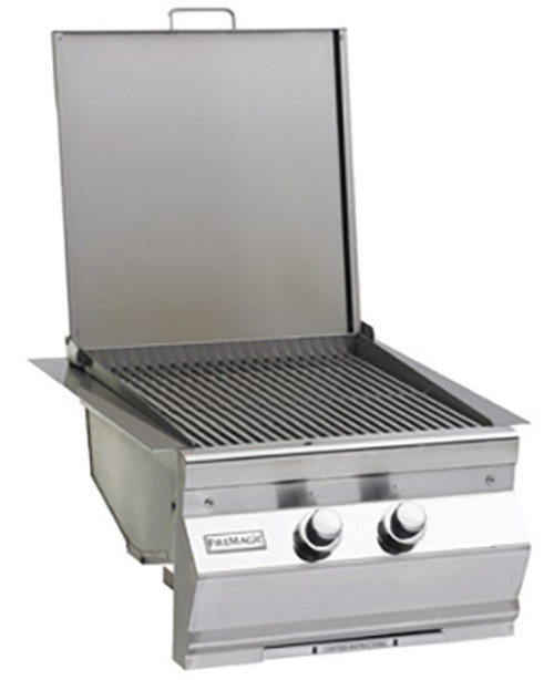 Fire Magic 3288L-1N Aurora Style Built-In Double Searing Station/Side Burner - Natural Gas