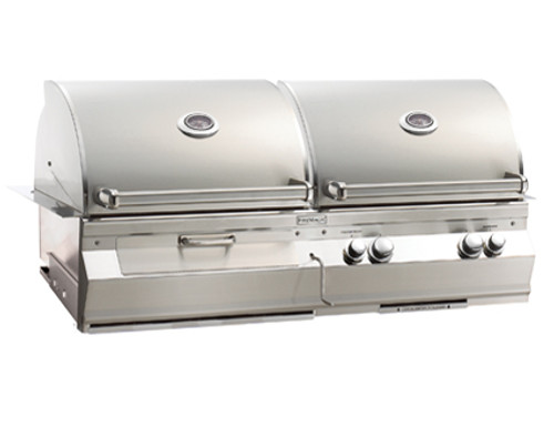 Fire Magic A830i-5E1P-CB Aurora Built-In Combo Gas and Charcoal Grill - Liquid Propane