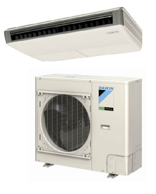 Daikin FHQ24PVJU / RZQ24PVJU9 24000 BTU Class SkyAir Commercial Ceiling Suspended Heat Pump 18.1 SEER Single Zone System