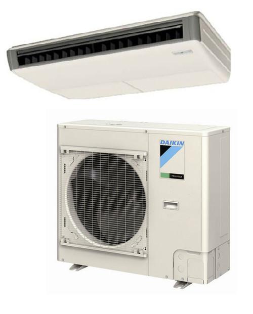 Daikin FHQ30PVJU / RZQ30PVJU 30000 BTU Class SkyAir Commercial Ceiling Suspended Heat Pump 17.2 SEER Single Zone System
