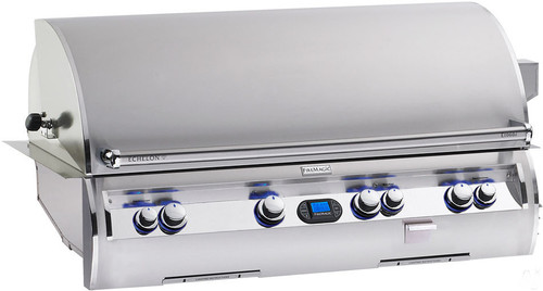 "Fire Magic E1060i-4E1P Echelon Diamond 48"" Built-In Gas Grill with Rotisserie - Liquid Propane"