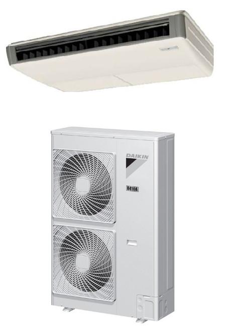 Daikin FHQ36MVJU / RZQ36PVJU9 36000 BTU Class SkyAir Commercial Ceiling Suspended Heat Pump 14 SEER Single Zone System