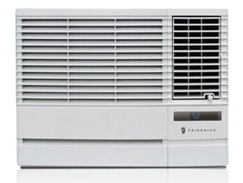 Friedrich EP08G11B 8000 BTU Class Chill Plus Window Air Conditioner with Electric Heat - 115 Volt