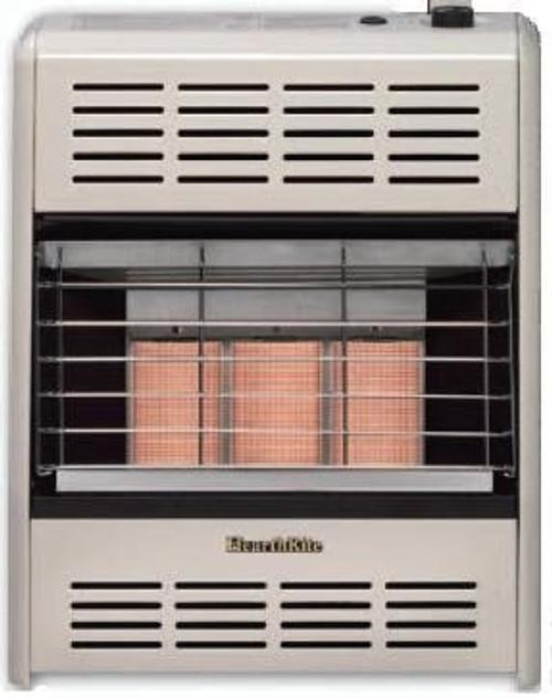 HearthRite HR15T 15K BTU IR Vent Free Gas Heater LP