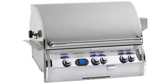 "Fire Magic E790i-4E1P Echelon Diamond 36"" Built-In Gas Grill with Rotisserie - Liquid Propane"