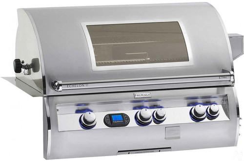 """Fire Magic E790i-4E1PW Echelon Diamond 36"""" Built-In Gas Grill with Window and Rotisserie - Liquid Propane"""