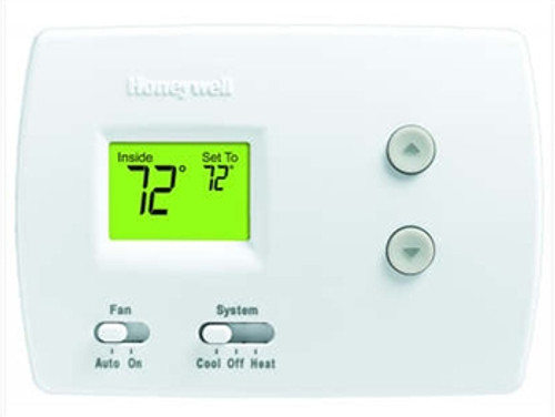 Honeywell TH3110D1008 PRO 3000 Non-Programmable Single Stage Thermostat with Digital Display