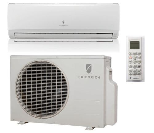 Friedrich M12YJ 12,000 BTU 21.5 SEER Ductless Mini Split Air Conditioner with Heat Pump