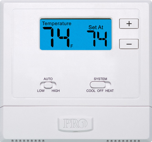 LG PYRCUCA0B Digital Wired Thermostat for PTACs