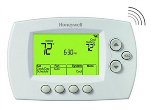 Honeywell TH6320WF1005 FocusPRO 6000 Programmable Multi-Stage Thermostat with WiFi Accessibility