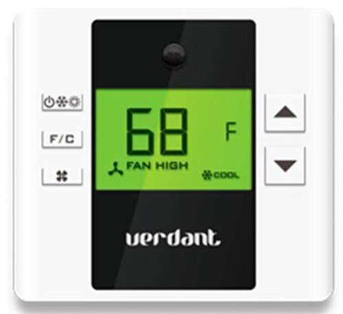 LG PYRCVDT02 Programmable Wired Thermostat with Motion and IR Sensor for PTACs