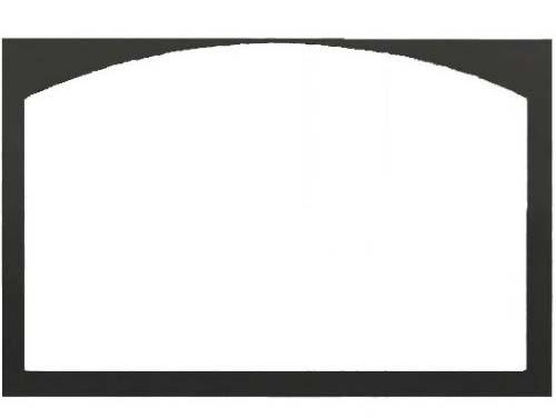 """Monessen DLC32CDFBT 32"""" Cabinet Door Frame in Textured Black"""