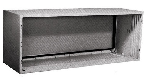 "General Electric RAB77B Fiberglass Reinforced Polyester Compound Wall Sleeve for 42"" Zoneline PTAC Air Conditioners"