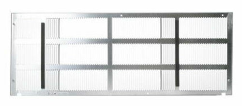 """General Electric RAG60 42"""" Stamped Aluminum Exterior Rear Grille"""