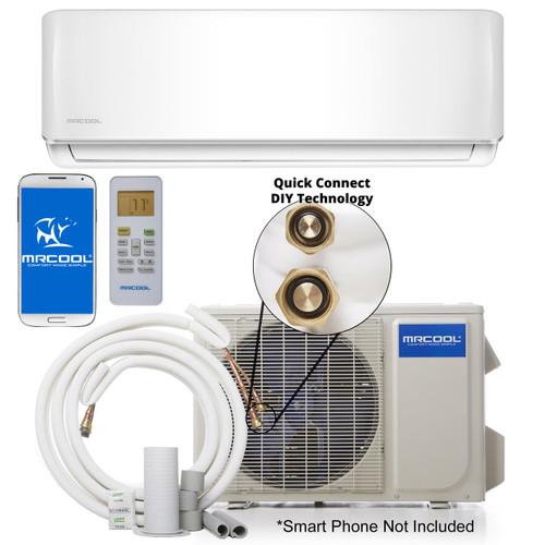 MRCOOL DIY-36-HP-C-230A / DIY-36-HP-WMAH-230A 36000 BTU DIY Single Zone Mini Split System, 230 Volt