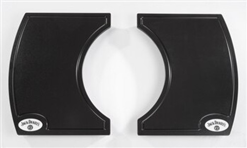 Primo PRM911 Two-Piece Island Side Shelves for Jack Daniel's Edition Oval 400 Grill