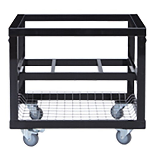 Primo PRM368 Heavy Duty Cart with Basket for Oval 300 or 400 Grill