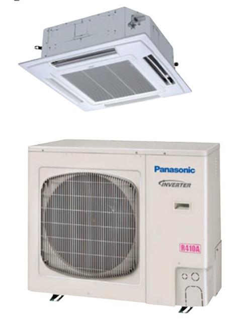 Panasonic 26PEU2U6 24000 BTU, 17.2 SEER Recessed Ceiling Cassette Mini Split with Heat Pump, 230 Volt