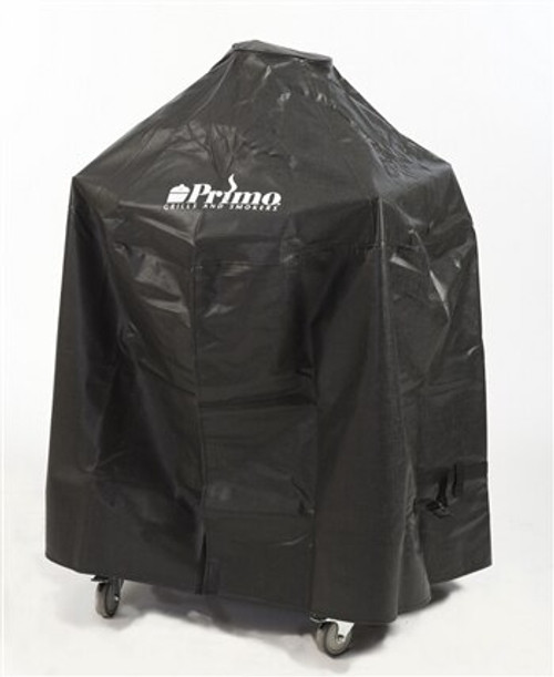 Primo PRM409 Grill Cover for Kamado in Cradle