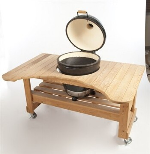 Primo PRM601 Cypress Table for Kamado Grill