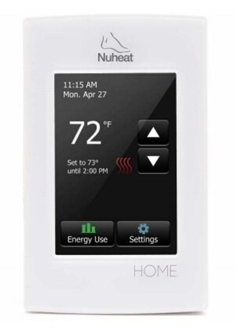Nuheat HOME 7-Day Programmable Floor Heat Sensing Thermostat